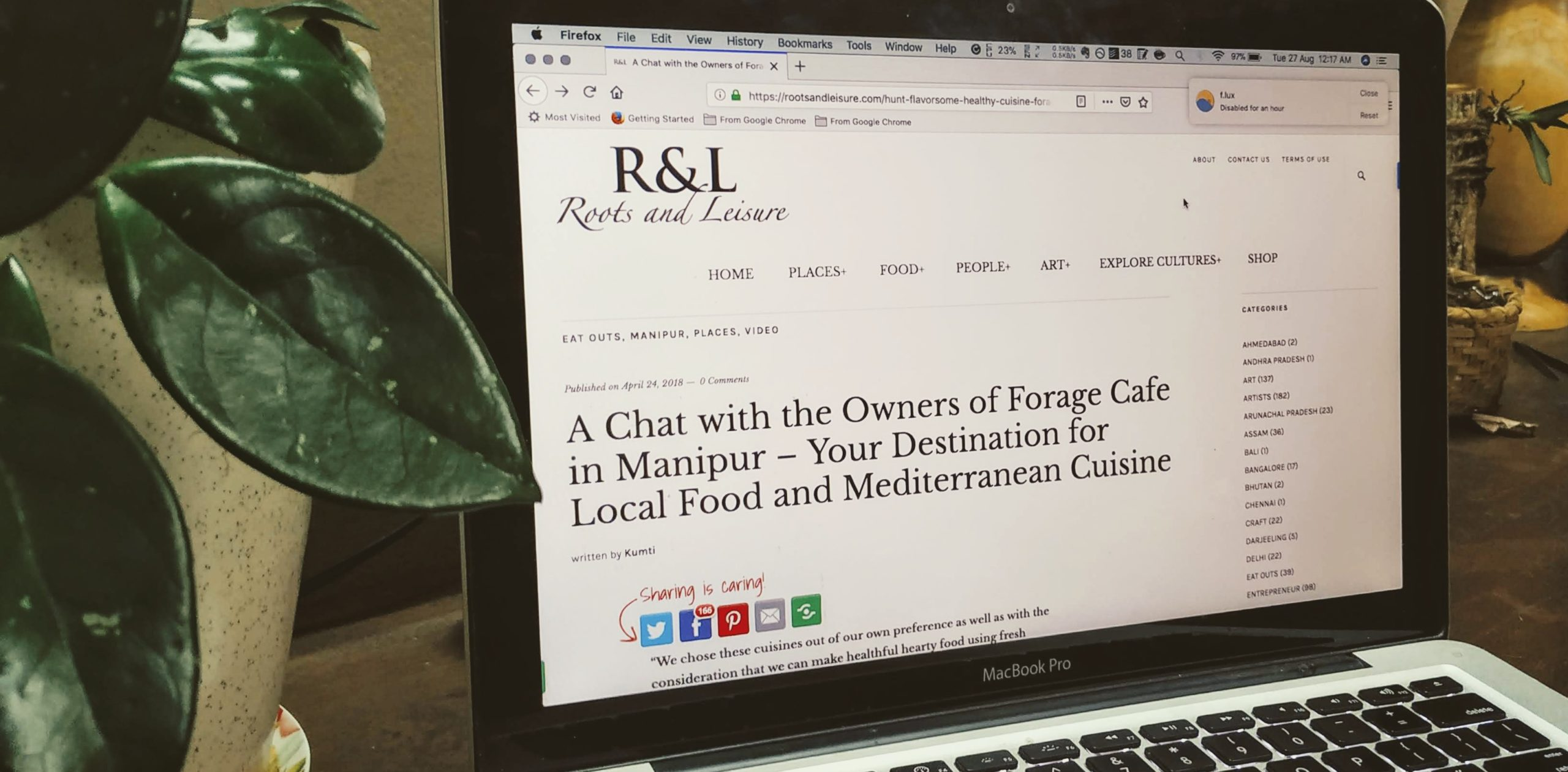 A chat with Roots and Leisure