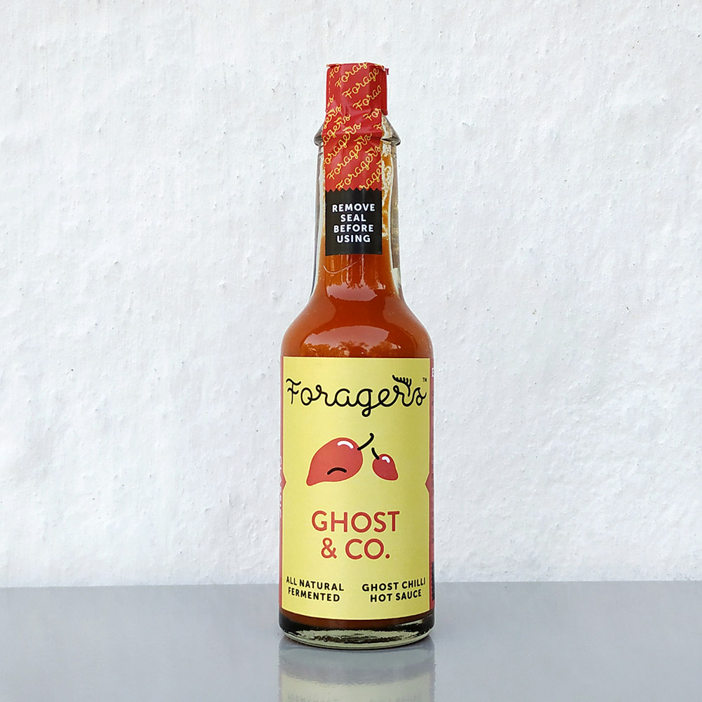 Ghost & Co. hot sauce – Ginger Garlic
