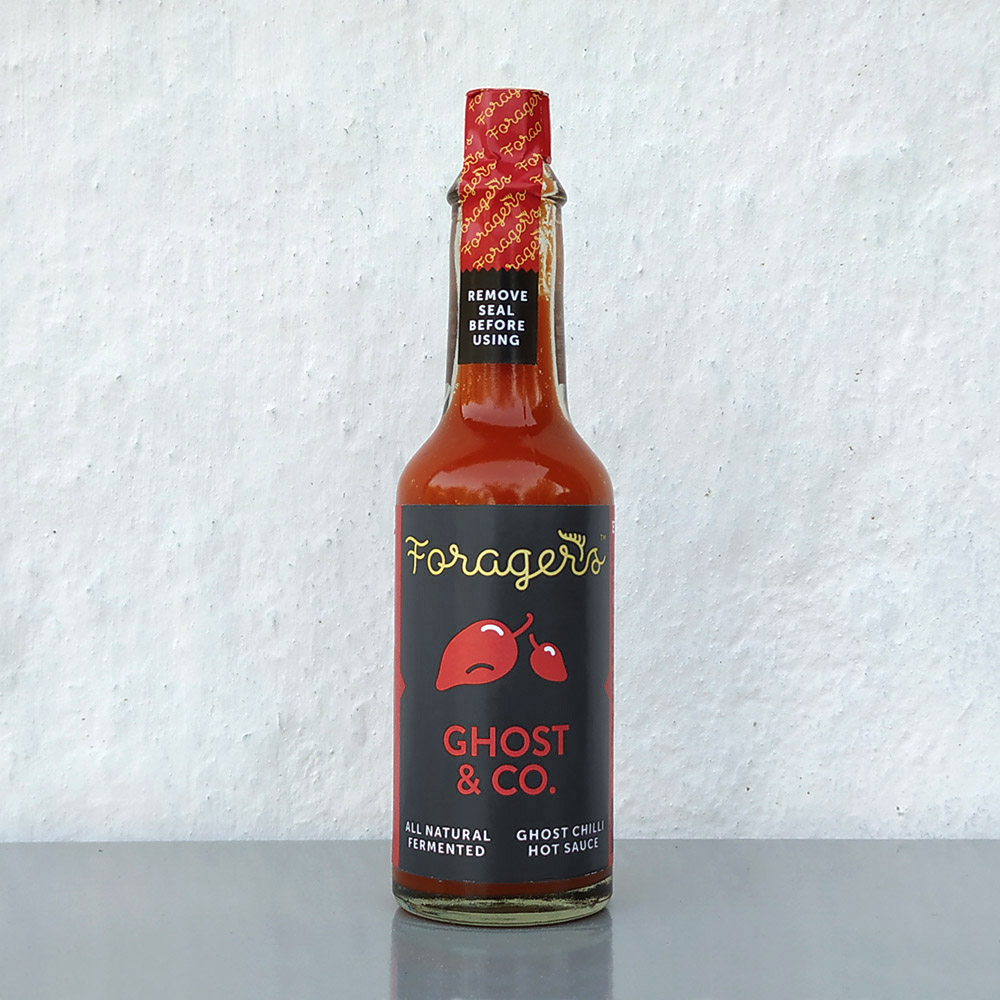 Ghost & Co. hot sauce – Smoked (limited edition)
